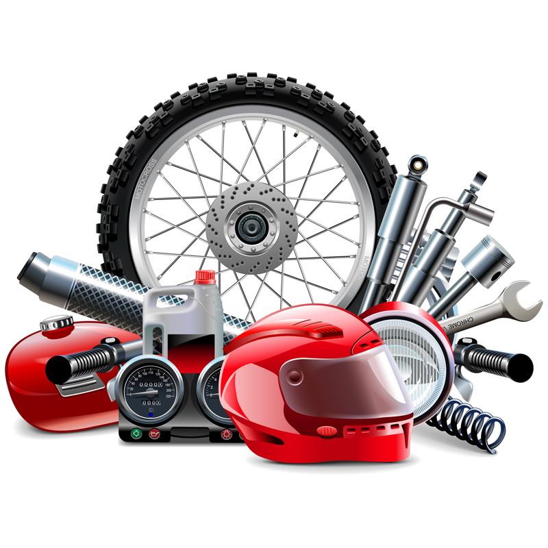 色々なバイク製品