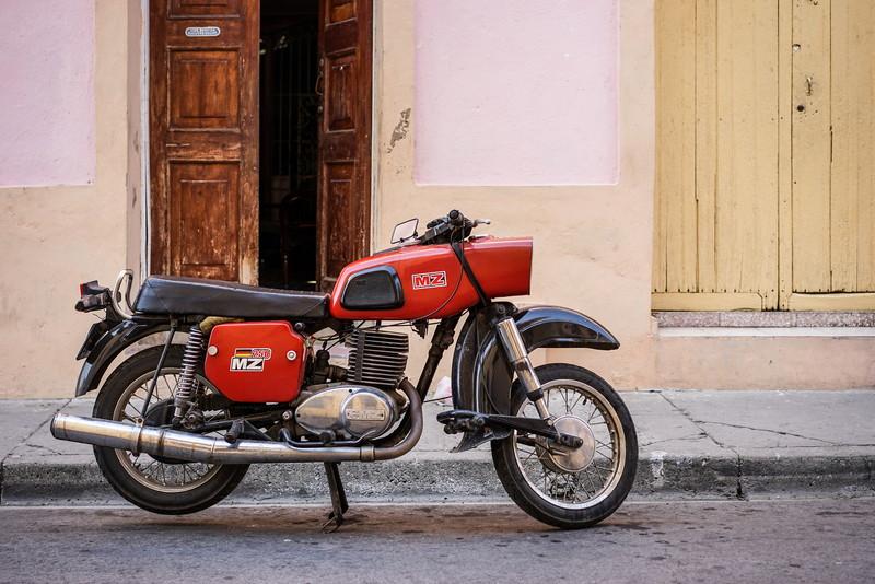 特徴的なバイク